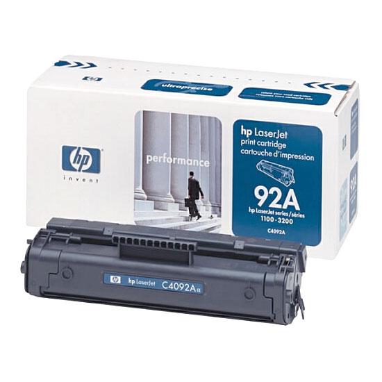 Восстановление картриджа C4092A для HP LaserJet 1100