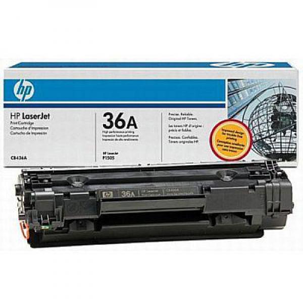 Заправка картриджа CB436A для HP LaserJet P1505