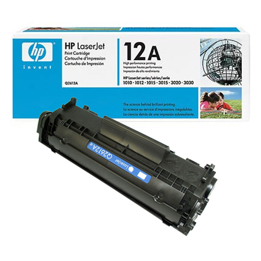 Восстановление картриджа Q2612A для HP LaserJet 1010