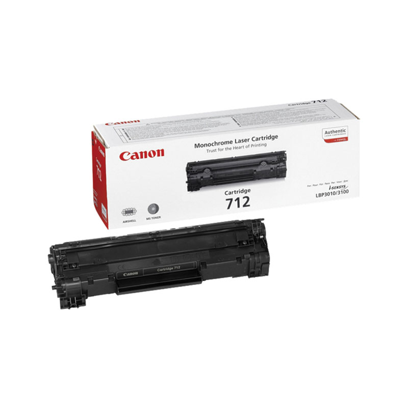 Заправка картриджа Cartridge 712 для Canon i-SENSYS LBP 3010