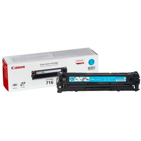 Восстановление картриджа Cartridge 716 Cyan для Canon i-SENSYS LBP-5050