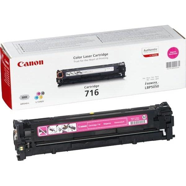 Восстановление картриджа Cartridge 716 Magenta для Canon i-SENSYS LBP-5050