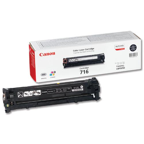 Заправка картриджа Cartridge 716 Black для Canon i-SENSYS LBP-5050