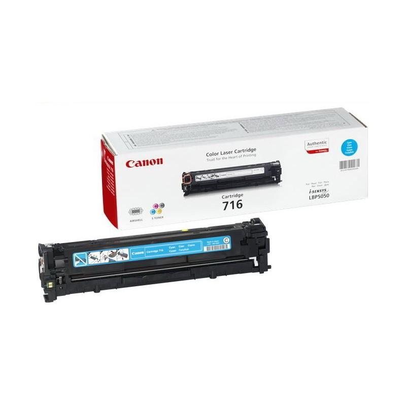 Заправка картриджа Cartridge 716 Cyan для Canon i-SENSYS LBP-5050
