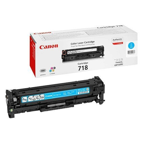 Восстановление картриджа Cartridge 718 Cyan для Canon i-SENSYS LBP-7200C