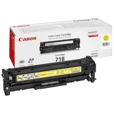 Восстановление картриджа Cartridge 718 Yellow для Canon i-SENSYS LBP-7200C