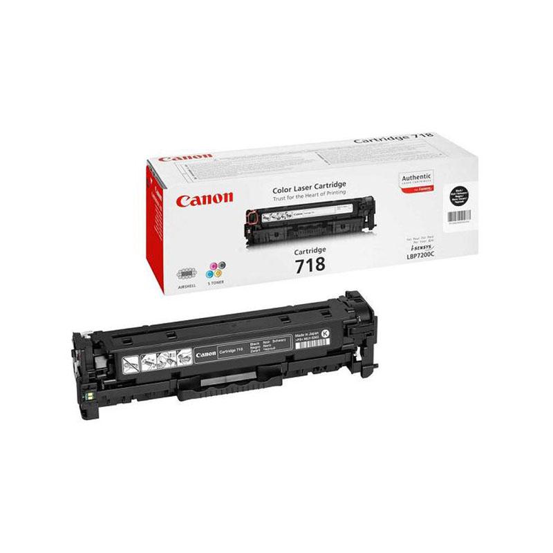 Заправка картриджа Cartridge 718 Black для Canon i-SENSYS LBP-7200C