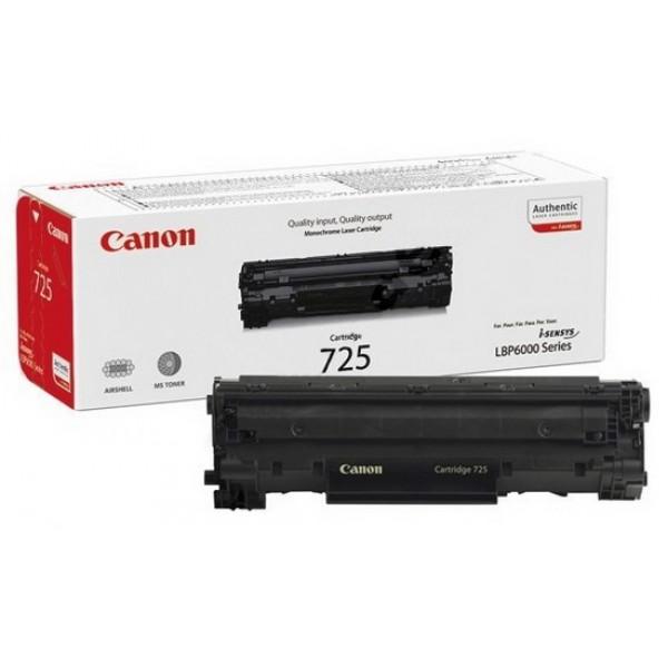 Восстановление картриджа Cartridge 725 для Canon i-SENSYS LBP-6000