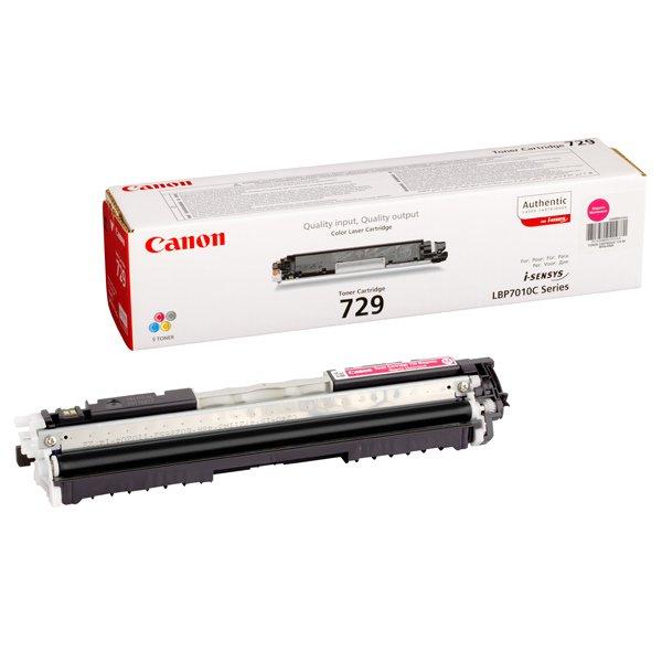 Заправка картриджа Cartridge 729 Magenta для Canon i-SENSYS LBP-7010C