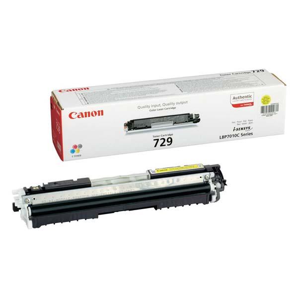Заправка картриджа Cartridge 729 Yellow для Canon i-SENSYS LBP-7010C