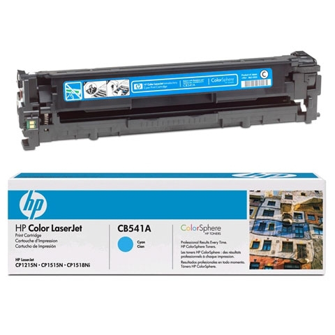 Восстановление картриджа CB541A для HP Color LaserJet CP1215