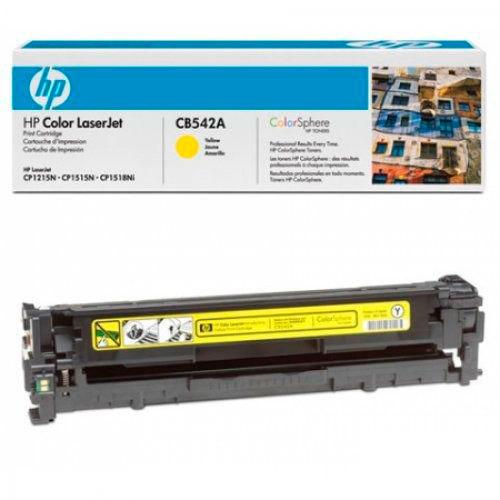 Восстановление картриджа CB542A для HP Color LaserJet CP1215