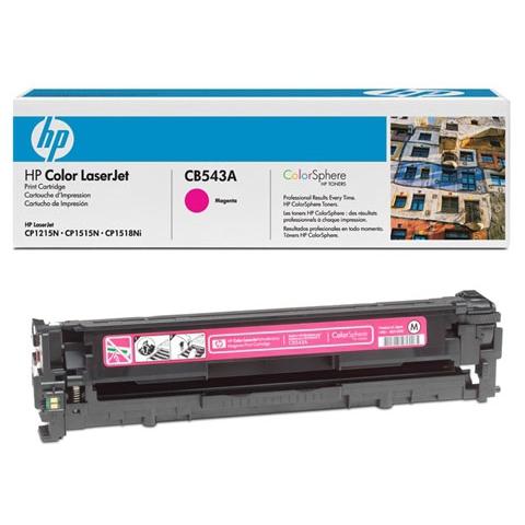 Восстановление картриджа CB543A для HP Color LaserJet CP1215