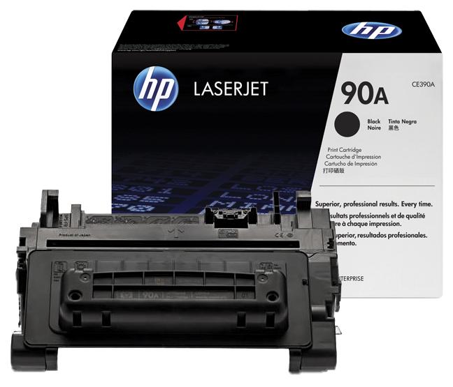 Восстановление картриджа CE390A для HP LaserJet Enterprise 600 M601