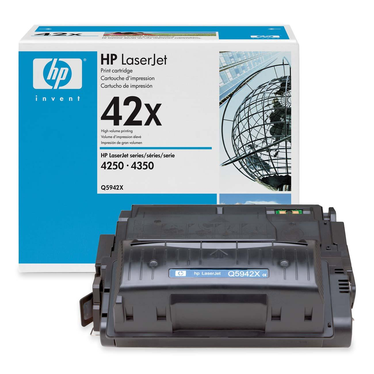 Восстановление картриджа Q5942X для HP LaserJet 4250