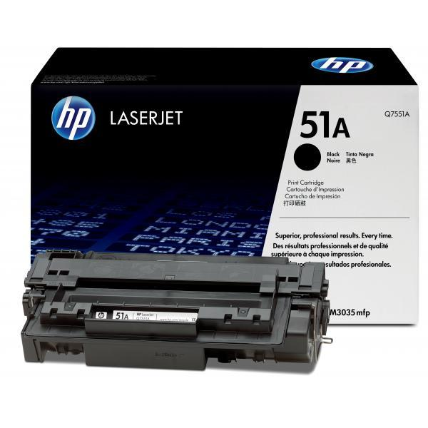 Восстановление картриджа Q7551A для HP LaserJet P3005