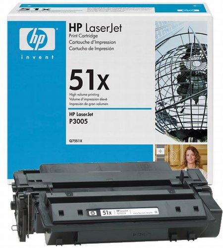 Восстановление картриджа Q7551X для HP LaserJet P3005
