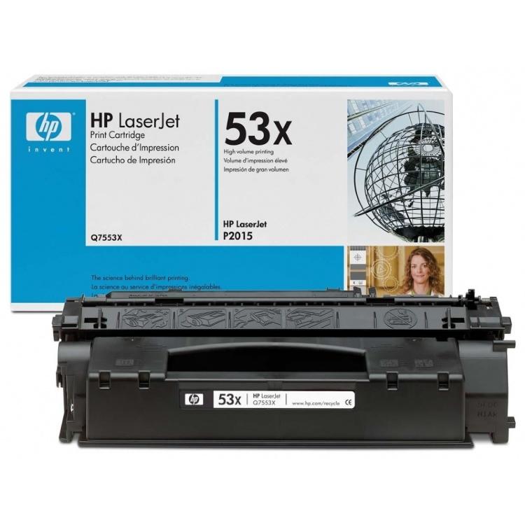 Восстановление картриджа Q7553X для HP LaserJet P2015
