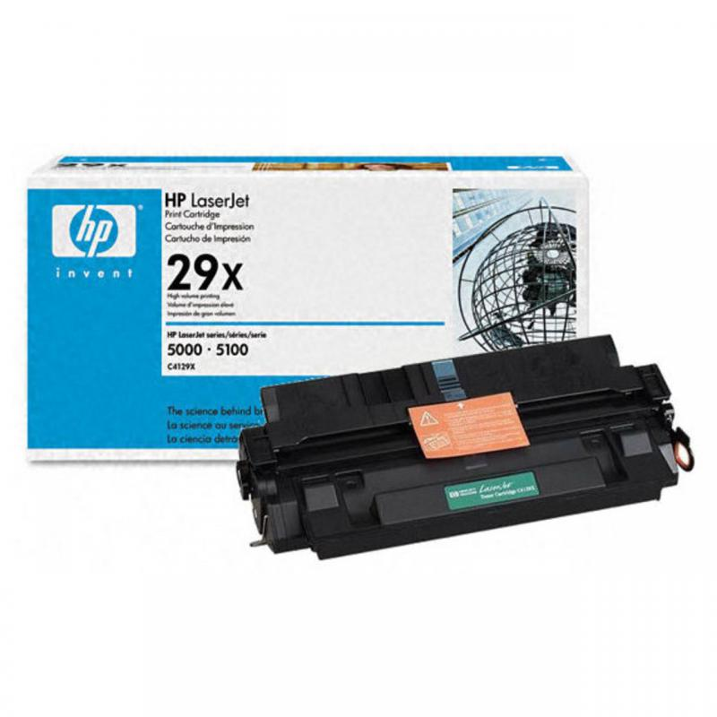 Восстановление картриджа C4129X для HP LaserJet 5000