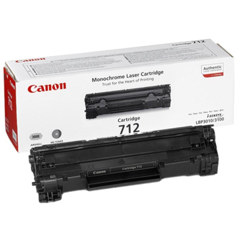 Восстановление картриджа Cartridge 712 для Canon i-SENSYS LBP 3010