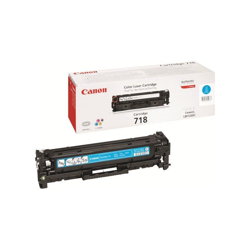 Заправка картриджа Cartridge 718 Cyan для Canon i-SENSYS LBP-7200C