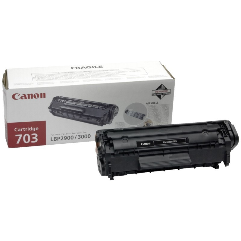 Заправка картриджа Cartridge 703 для Canon i-SENSYS LBP2900