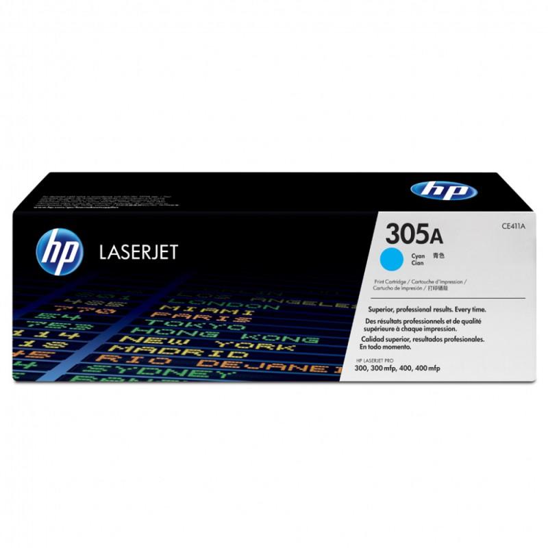 Восстановление картриджа CE411A для HP Color LaserJet Pro 400 M451dn