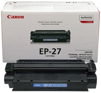 Восстановление картриджа Cartridge EP-27 для Canon i-Sensys LBP-3200