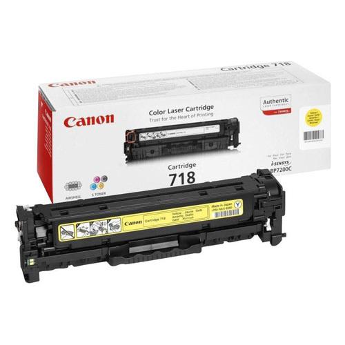 Заправка картриджа Cartridge 718 Yellow для Canon i-SENSYS LBP-7200C