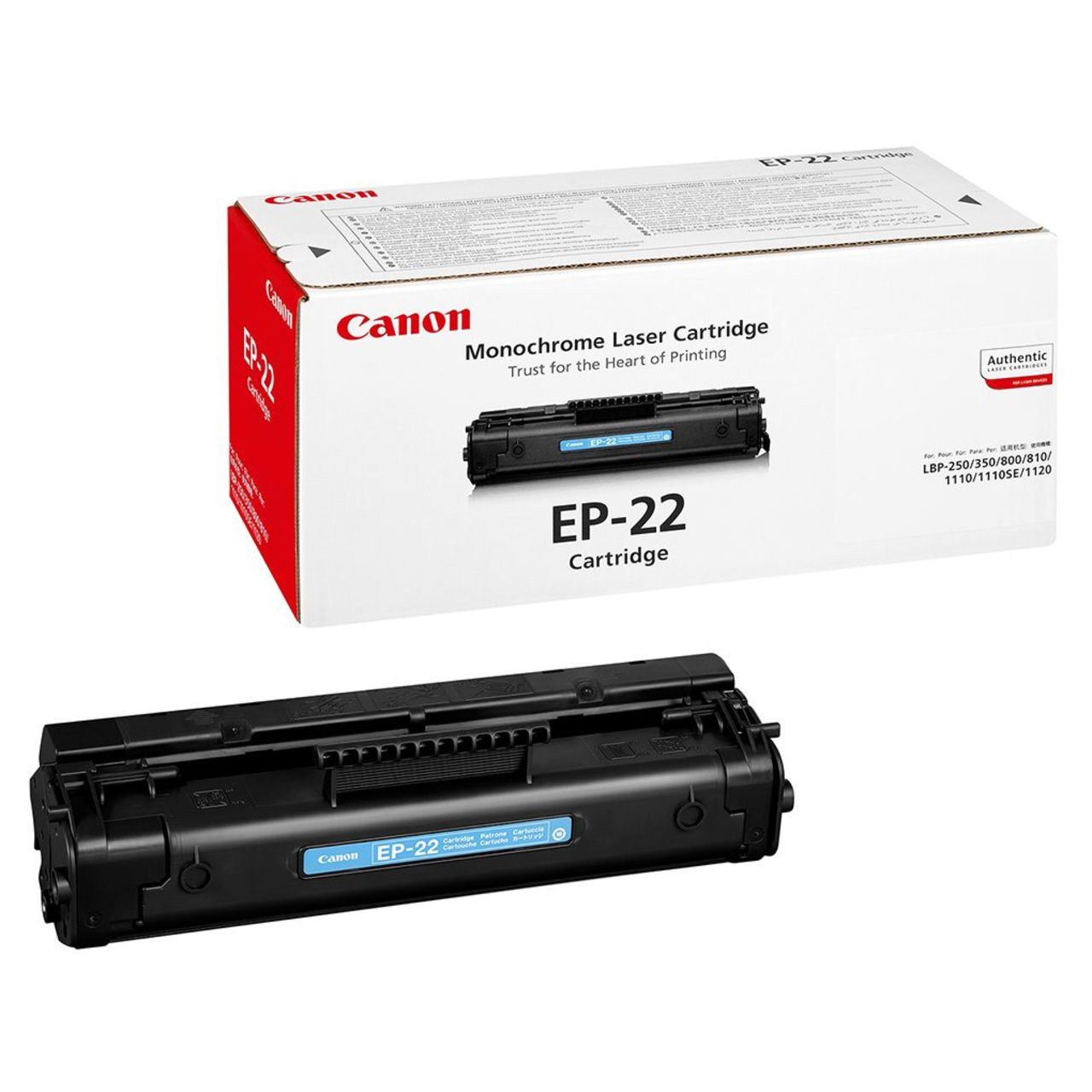 Заправка картриджа Cartridge EP-22 для Canon Laser Shot LBP-800