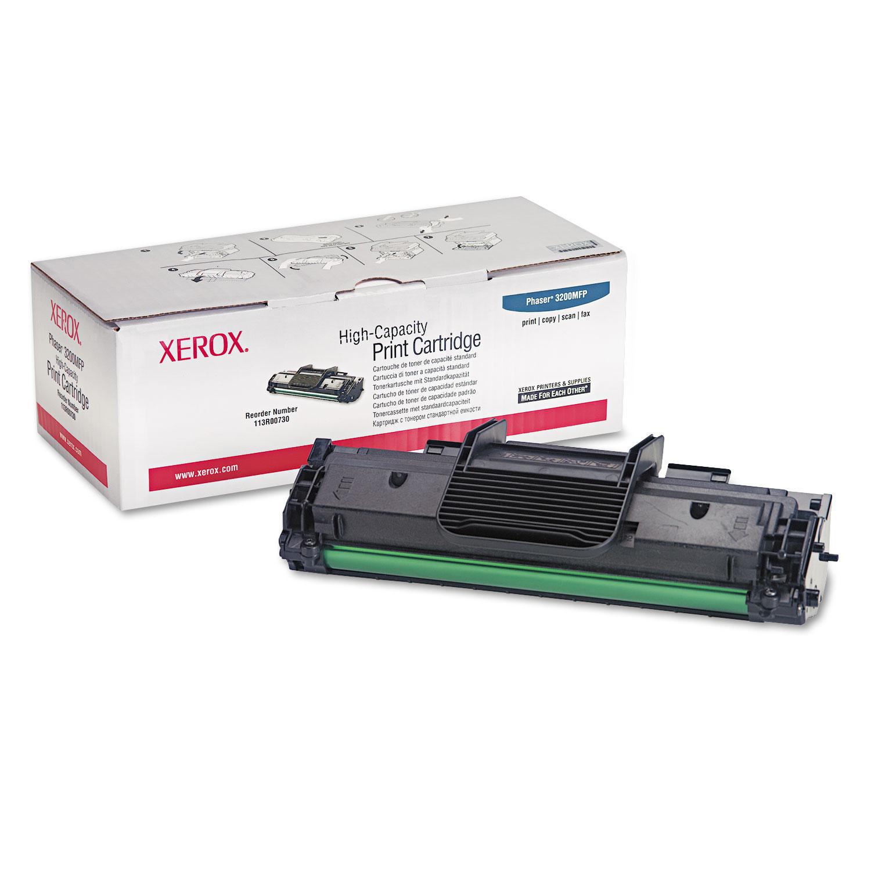Заправка картриджа 113R00730 для Xerox Phaser 3200