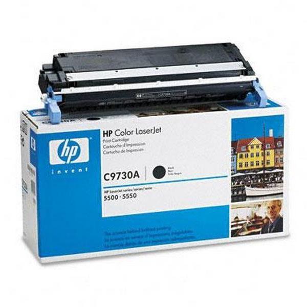 Заправка картриджа C9730A для HP Color LaserJet 5500