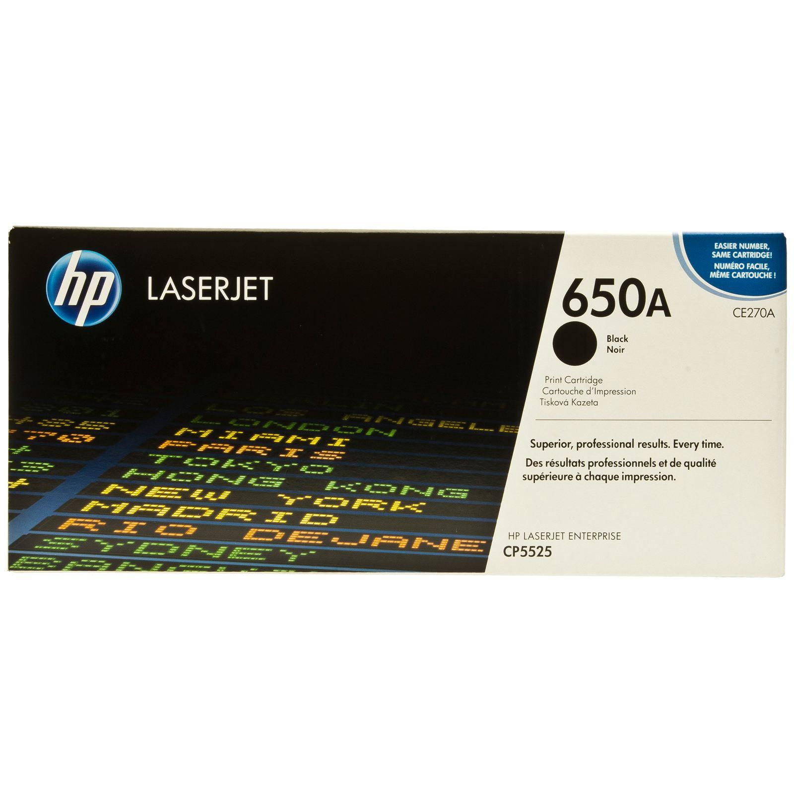 Заправка картриджа CE270A для HP Color LaserJet Enterprise CP5525