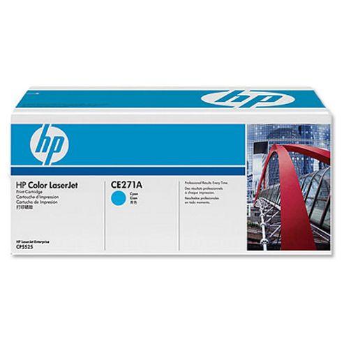 Заправка картриджа CE271A для HP Color LaserJet Enterprise CP5525