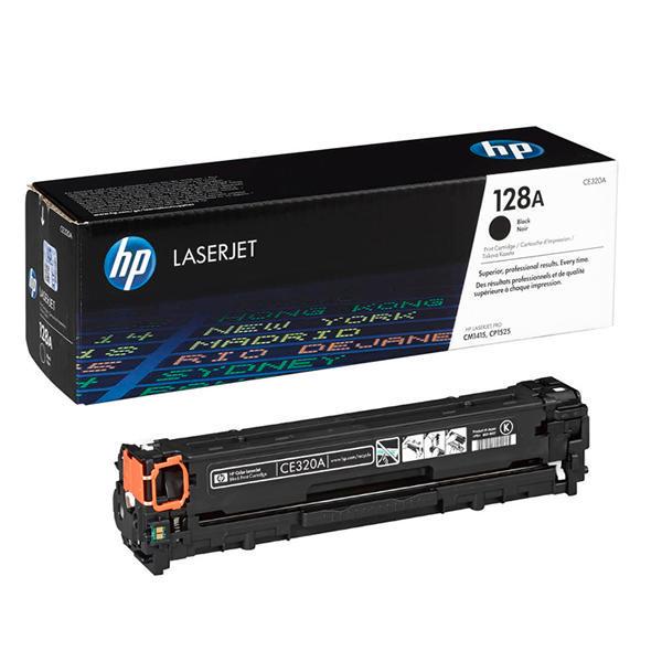Заправка картриджа CE320A для HP Color LaserJet Pro CM1415
