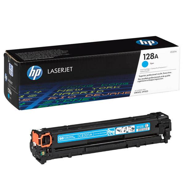 Заправка картриджа CE321A для HP Color LaserJet Pro CM1415