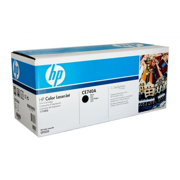 Заправка картриджа CE740A для HP Color LaserJet Professional CP5225