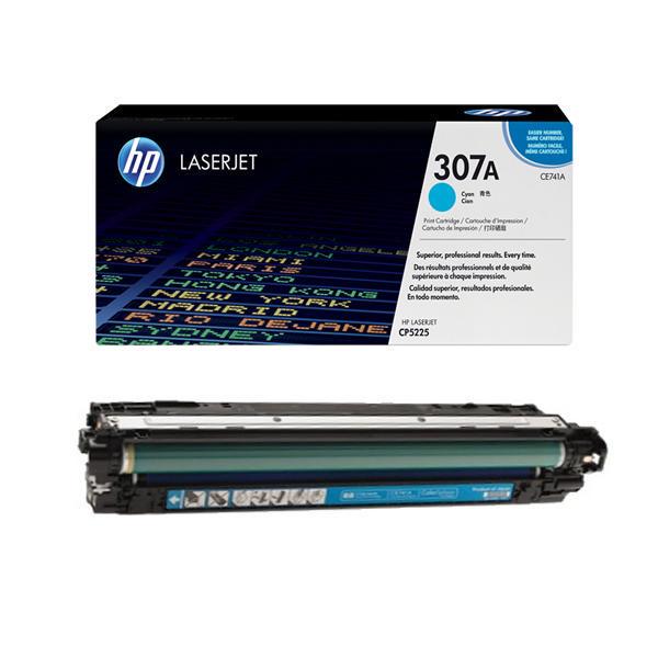 Заправка картриджа CE741A для HP Color LaserJet Professional CP5225