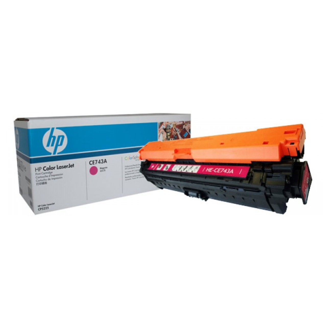 Заправка картриджа CE743A для HP Color LaserJet Professional CP5225