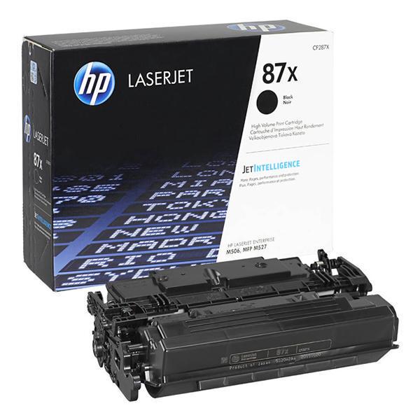 Заправка картриджа CF287X для HP LaserJet Enterprise M506