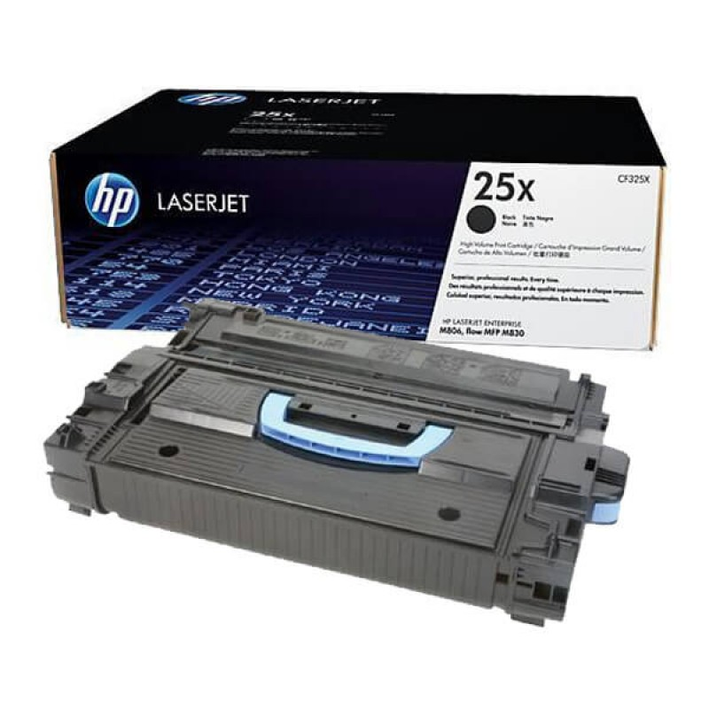 Заправка картриджа CF325X для HP LaserJet Enterprise M806