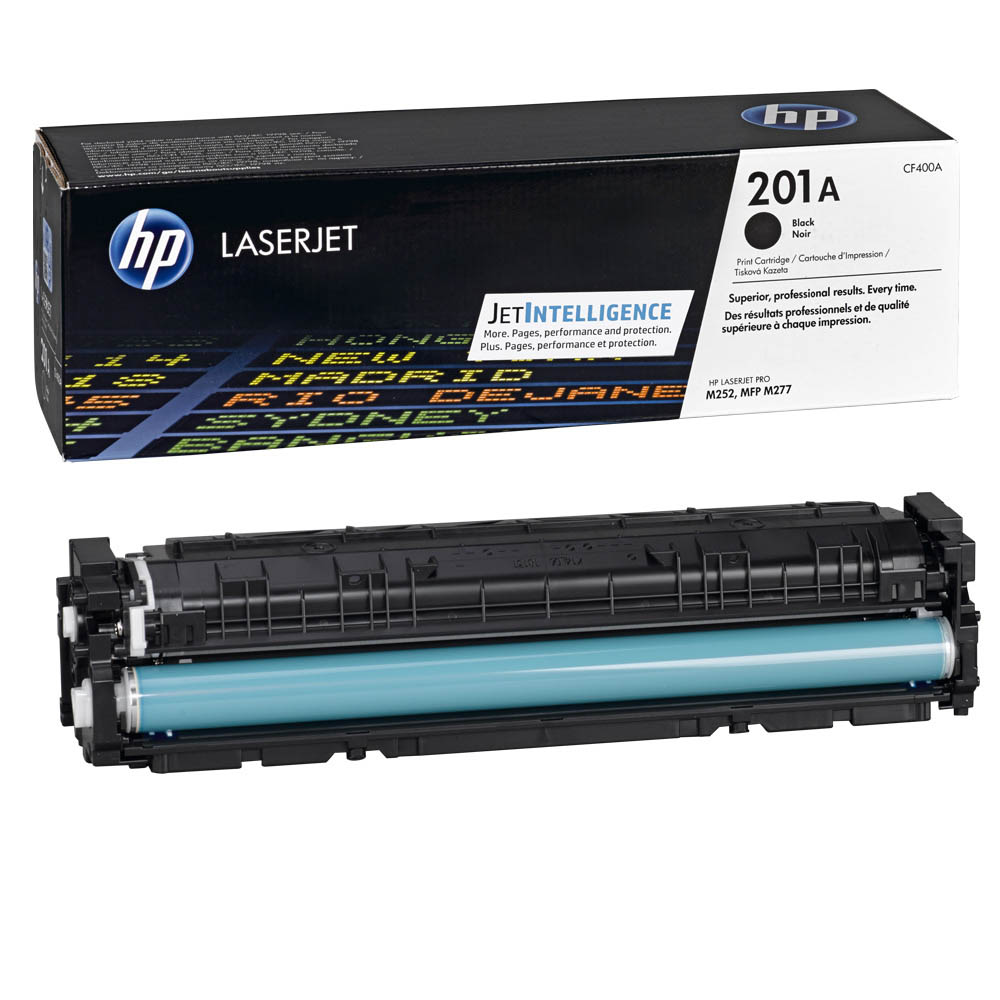 Заправка картриджа CF400A для HP Color LaserJet Pro M252