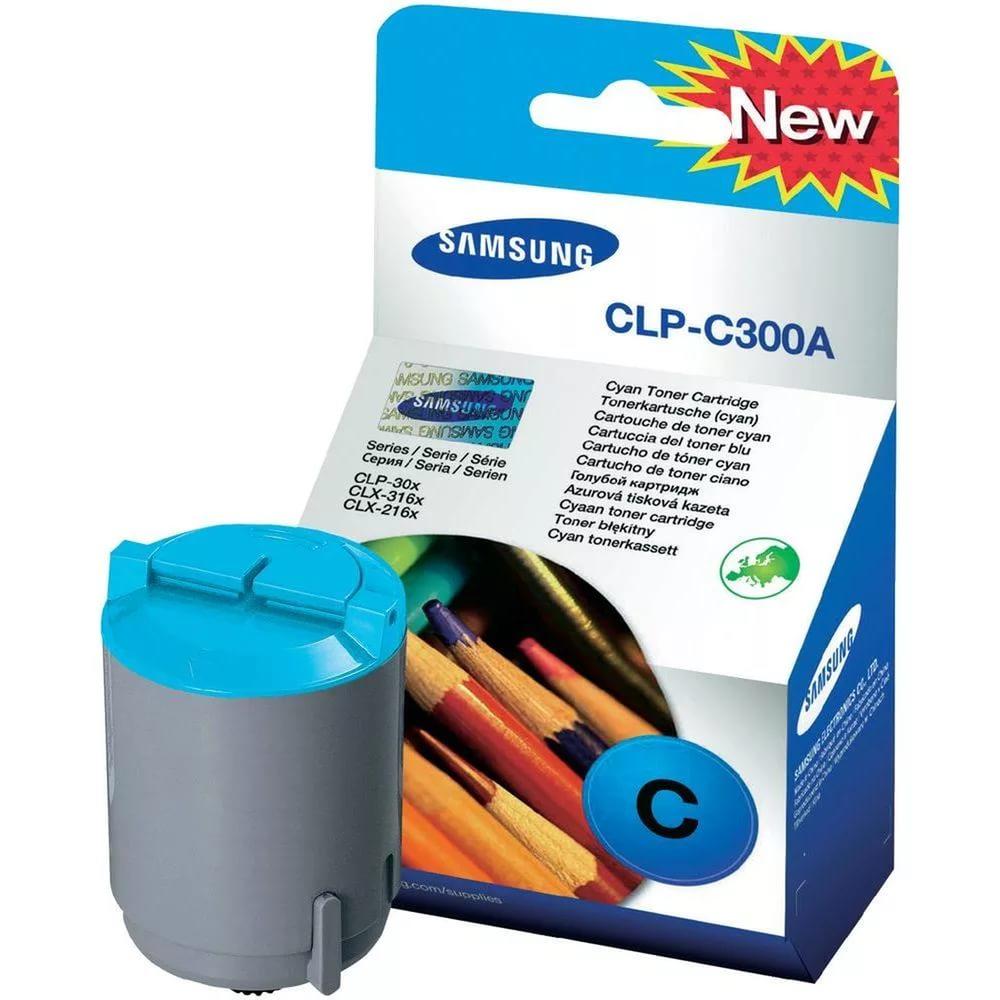 Заправка картриджа CLP-C300A для Samsung CLP-300