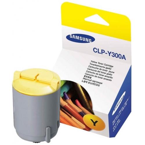 Заправка картриджа CLP-Y300A для Samsung CLP-300