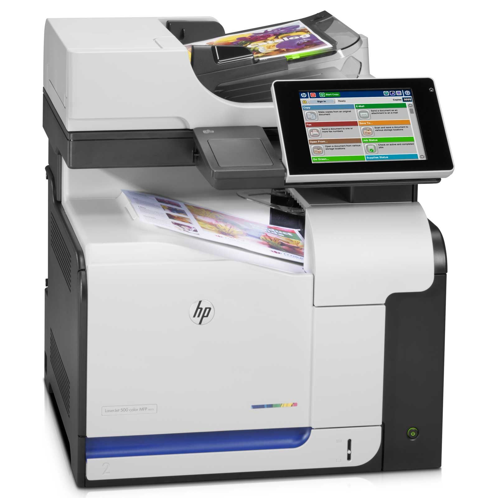 HP LaserJet Enterprise 500 M575