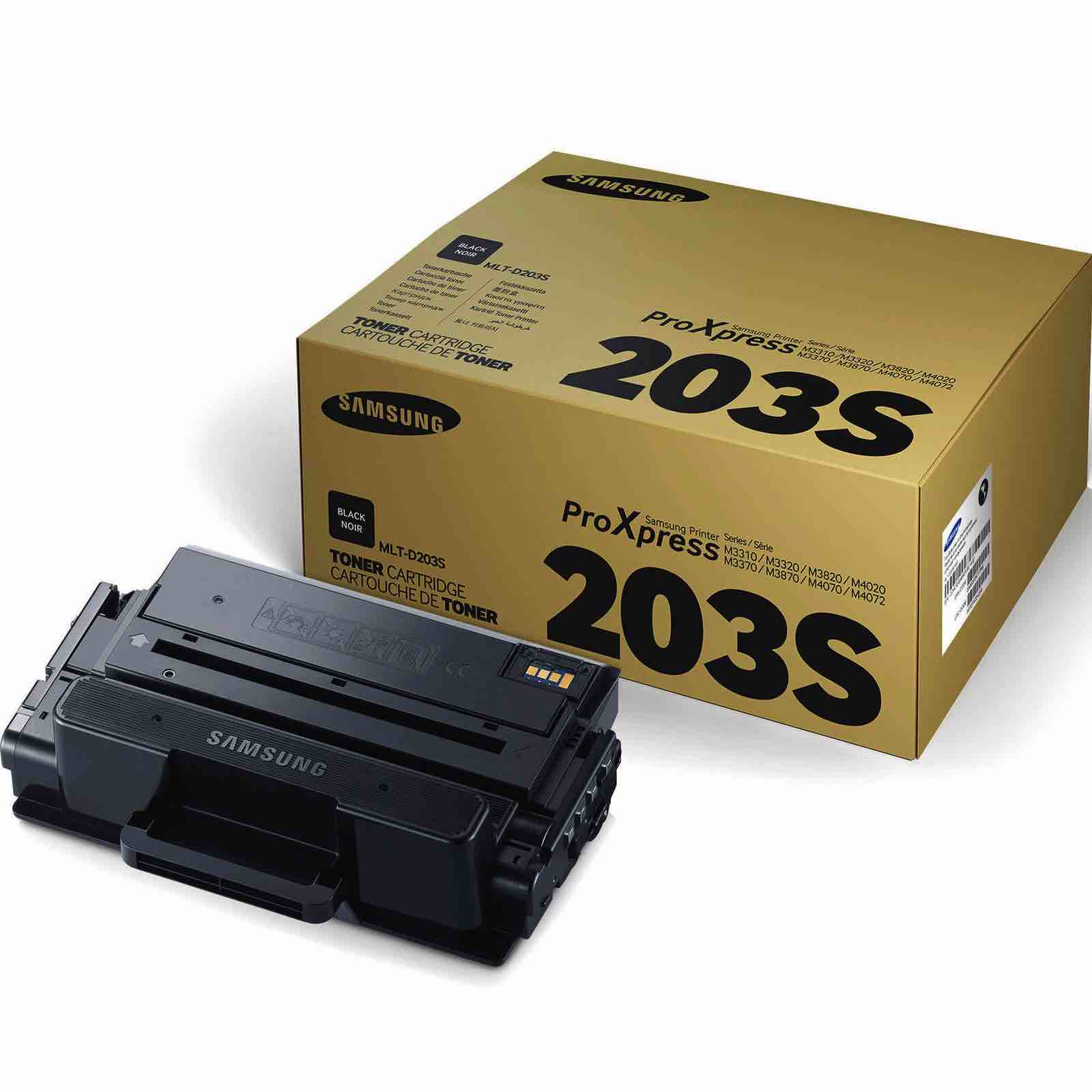 Заправка картриджа MLT-D203S для Samsung Xpress M4020
