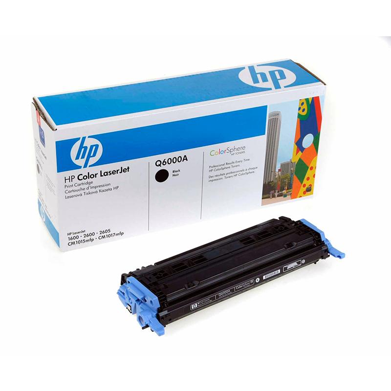 Заправка картриджа Q6000A для HP Color LaserJet 2600