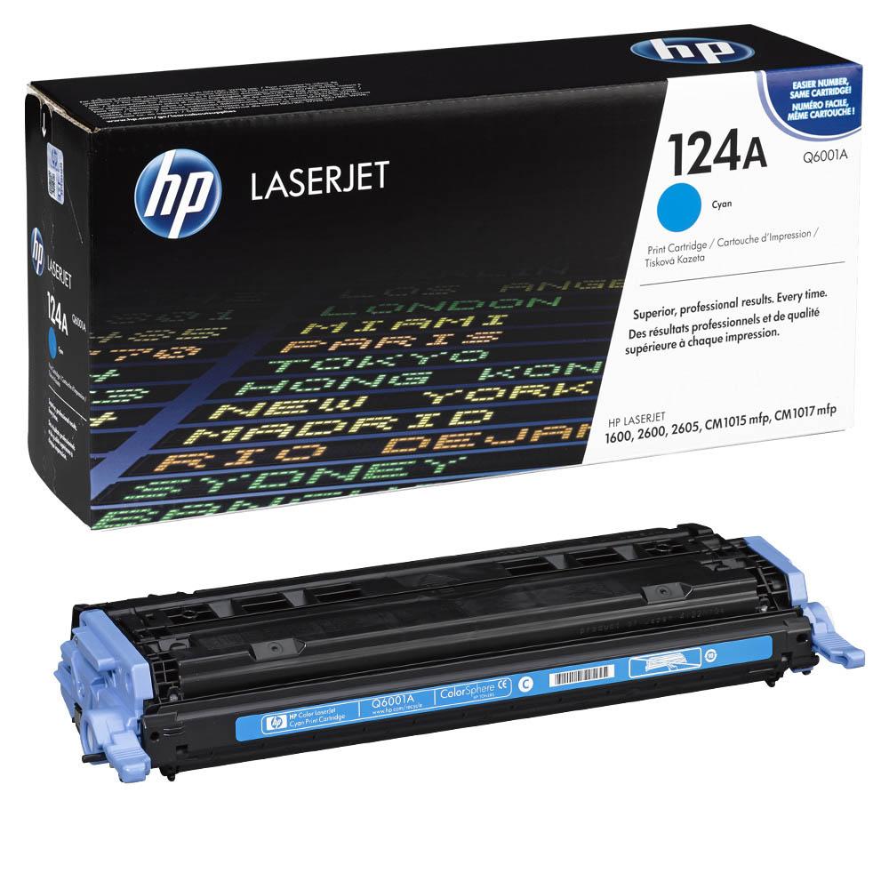Заправка картриджа Q6001A для HP Color LaserJet 2600