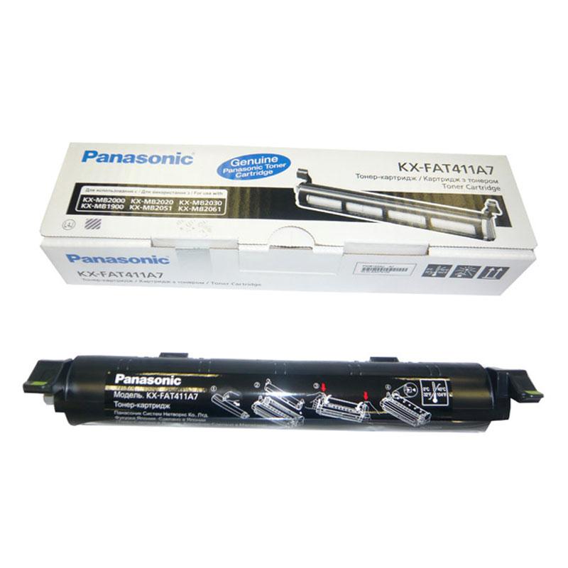 Заправка картриджа KX-FAT411A7 для Panasonic KX-MB2000
