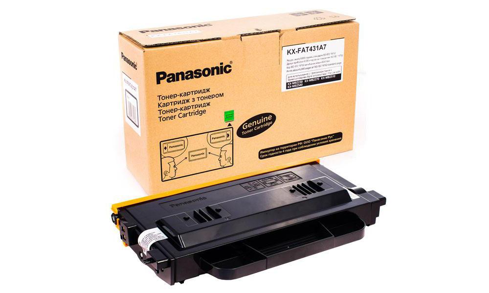 Заправка картриджа KX-FAT431A7 для Panasonic KX-MB2230